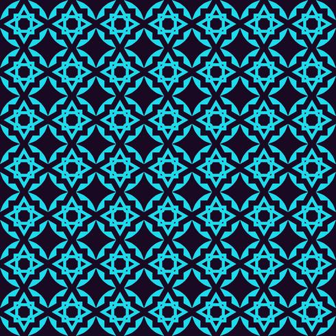 Nahtloses Muster. Ornament von Linien und Locken. Linearer abstrakter Hintergrund. vektor