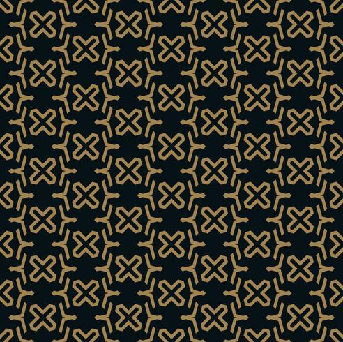 abstrakte nahtlose Verzierung zeichnet Mustervektorillustration vektor