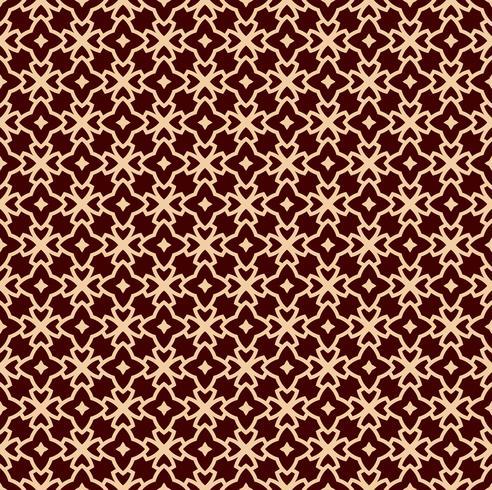 Vektor nahtlose Muster. Moderne stilvolle Textur. Wiederholte lineare Verzierung