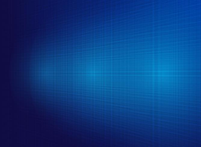 Abstrakt teknologi blå linjer bakgrund med belysningseffekt. vektor