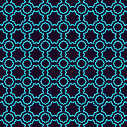 Geometrisk enkel lyxig blå minimalistisk mönster med linjer. Kan användas som bakgrund, bakgrund eller textur. vektor