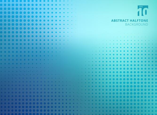 Abstrakte blaue Halbtonbeschaffenheit auf unscharfem Hintergrund. vektor