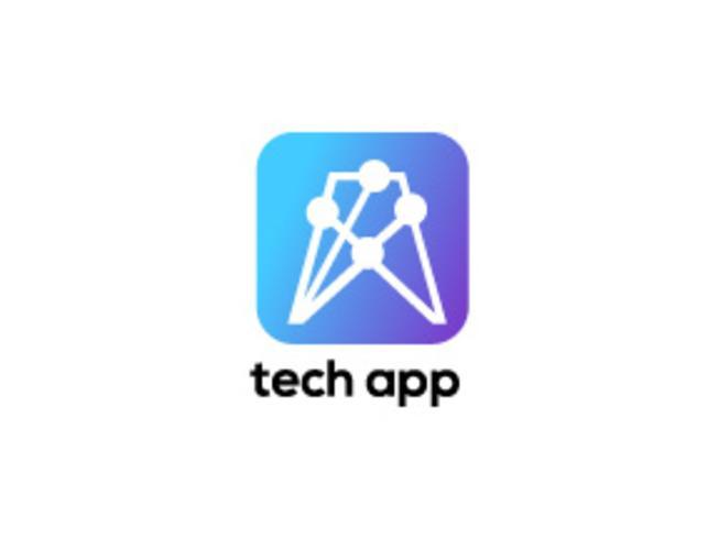 Ein Tech-App-Symbol vektor