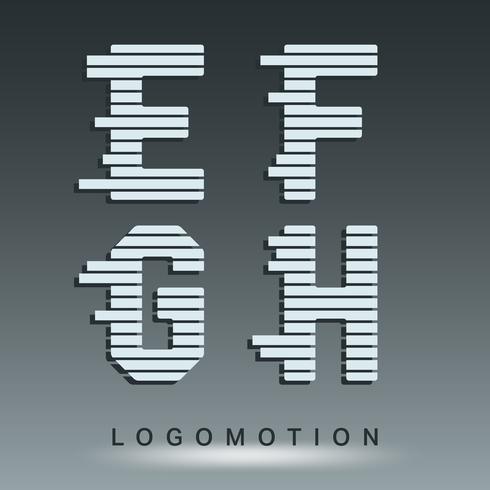Logotypstypmall vektor