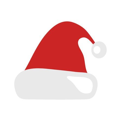 Santa Claus Julhatt vektor