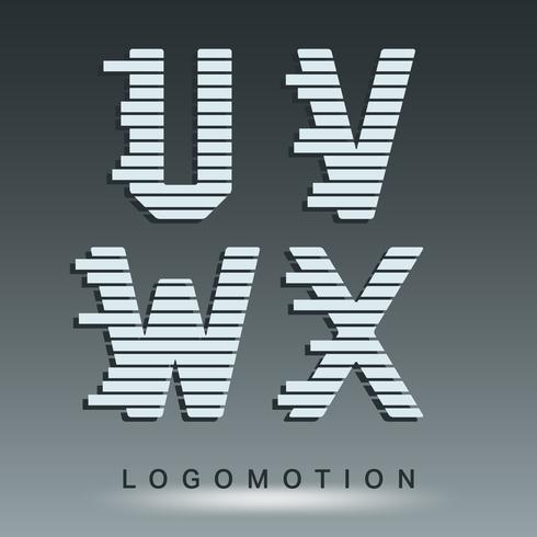 Logo-Schriftvorlage vektor