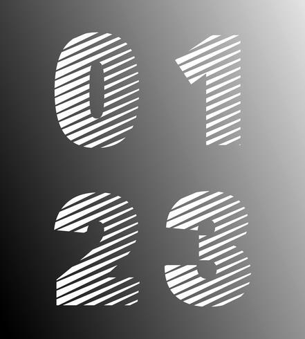 Schriftvorlage entfernen vektor