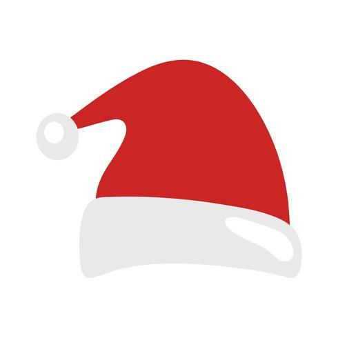 Weihnachtsmann Weihnachtsmütze vektor