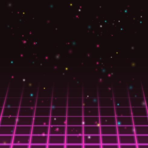Gamla videospel bakgrund vektor