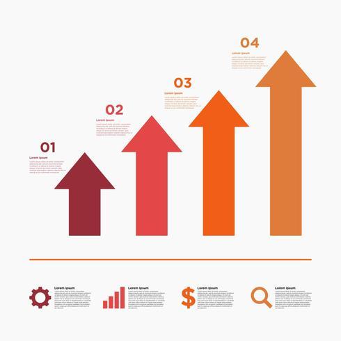 Präsentation Business Illustration vektor