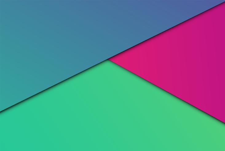 Bunte abstrakte Papiere, vektorabbildung vektor
