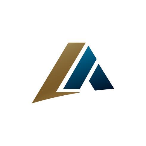 brev En logotypkonceptkonceptmall vektor