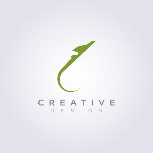 Flugzeug-Vektor-Illustrations-Design Clipart-Symbol Logo Template vektor