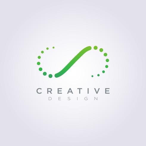 Dorn-Zusammenfassungs-Vektor-Illustrations-Design Clipart-Symbol Logo Template vektor