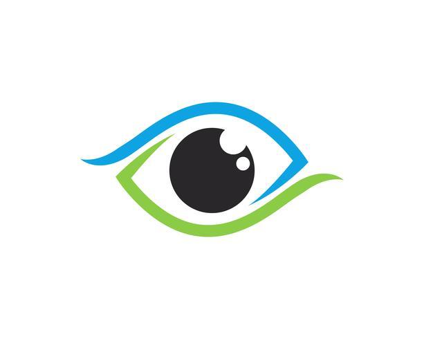 Auge Logo Vektor