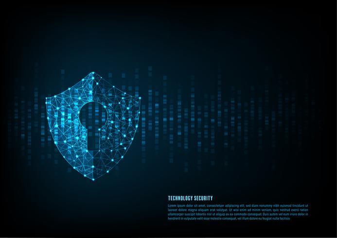 Technologie Cyber-Sicherheit vektor