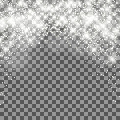 Weihnachtstransparenter Hintergrund vektor