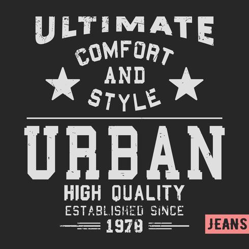Urban Vintage Stempel vektor