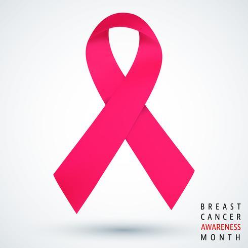 Bröstcancermedvetenhet månadaffisch vektor