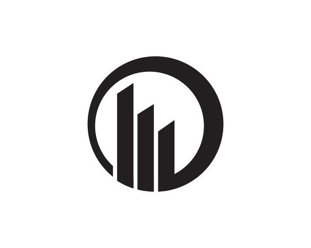 finans logo och symboler vektor koncept illustration ,,