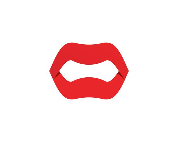 mun Tandvård logotyp och symboler mall ikoner app, vektor