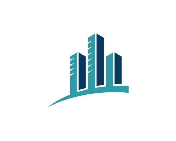 finans logo och symboler vektor koncept illustration