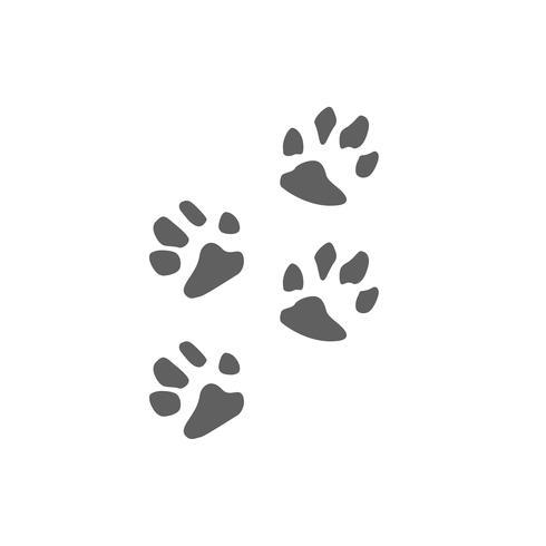 Tierpflege Logo Design Umarmung Hund Katze Vektor isoliert Icon-Element