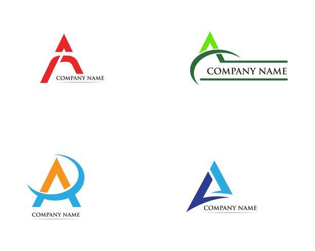 Ein Logo Business Template Vector-Symbol vektor