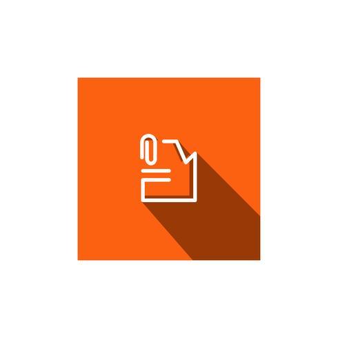 filarkiv dokumentlogo mall vektorillustration ikonelement vektor