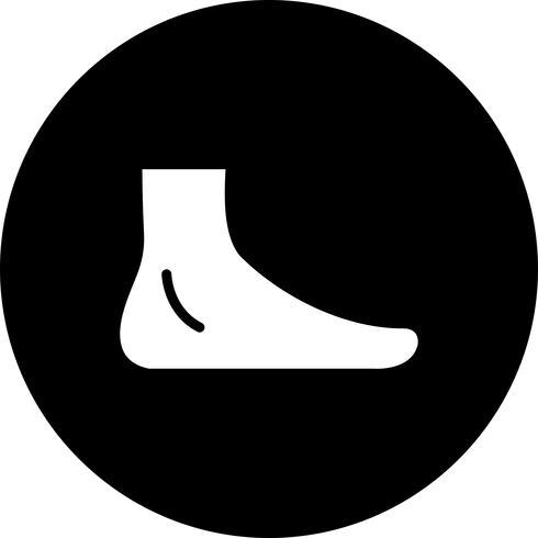 Vektor Fußsymbol