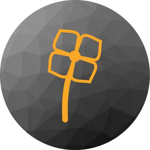 Vektor-Blumen-Ikone vektor
