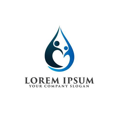 partners människor Logos. Business and Consulting logo design conce vektor