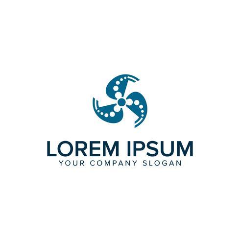 turbin logo design koncept mall vektor