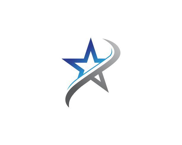 Star Logo Mall vektor ikon illustration design