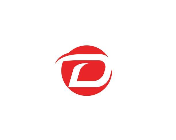 D Snabbare Logo Business Template Vector