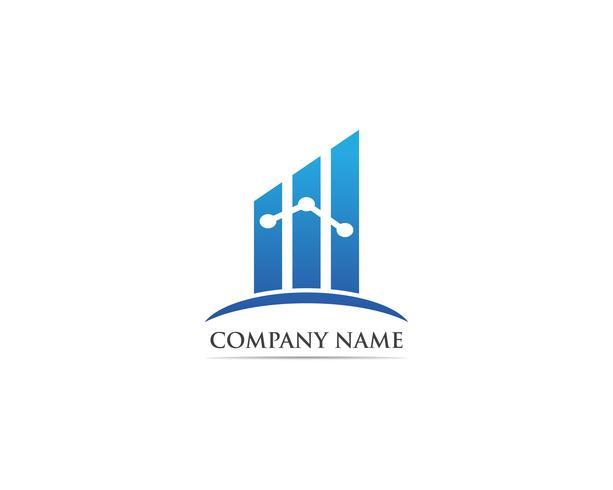 Finanzen Logo und Symbole Vektor