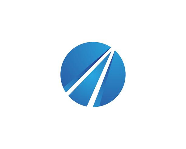 finans logo och symboler vektor koncept