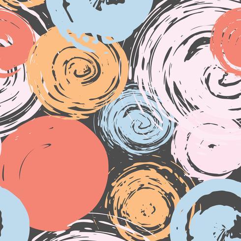 Abstrakter Musterpinsel-Anschlaghintergrund. Vektor-illustration vektor