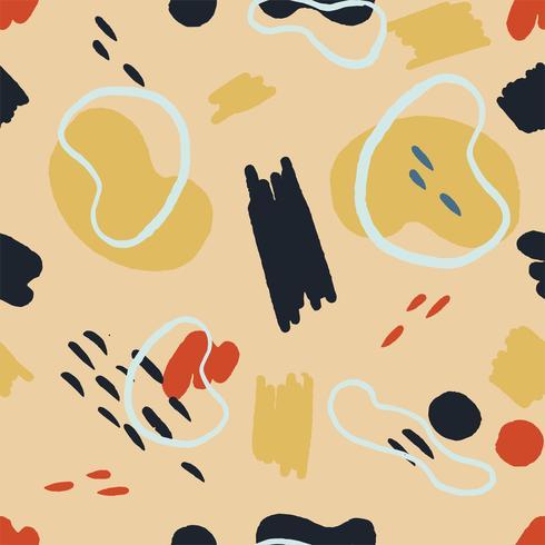 Memphis-Arthintergrund des geometrischen Musters, Formhintergrund vektor
