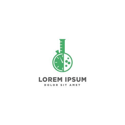 Labor Vektor Logo Vorlage Symbol Element isoliert