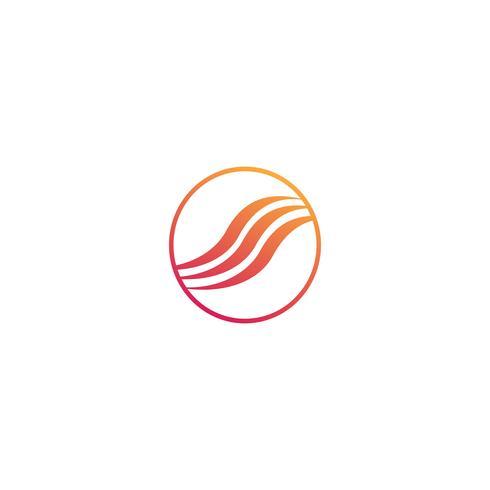 mode hår kreativ logotyp mall vektor illustration ikon element