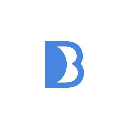 Buchstabe B kreative Logo Vorlage Vektor Illustrator