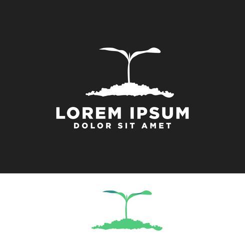 Pflanzen kreative Logo Vorlage Vektor-Illustration, Icon-Elemente vektor