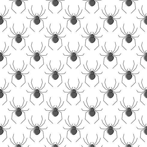 Nahtloses Muster des Spinnenvektors für Textildesign, Tapete, Packpapier vektor