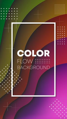 Färggradient bakgrunds tapet design vektor