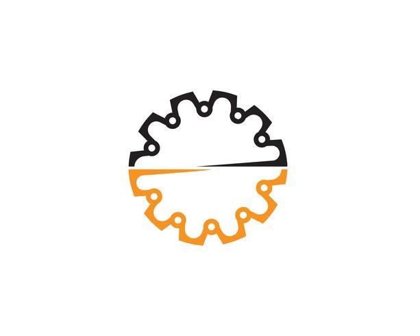 Gang Logo Template-Vektorikonen-Illustrationsdesign vektor