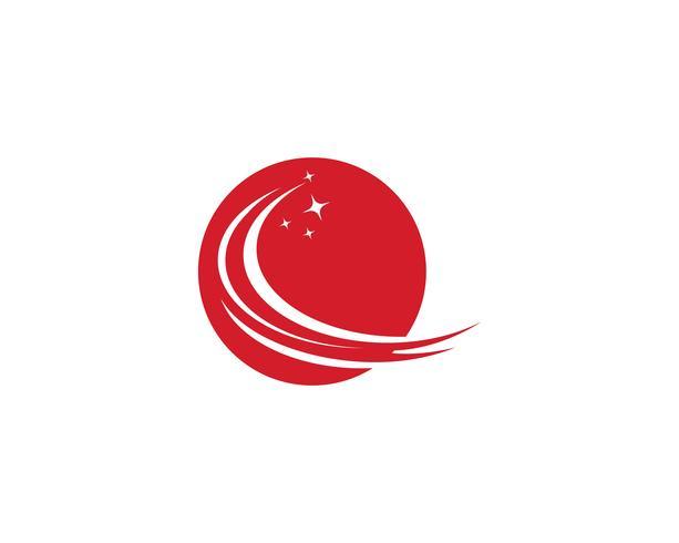 Schnellere Logo-Vorlage-Vektor-Icons vektor