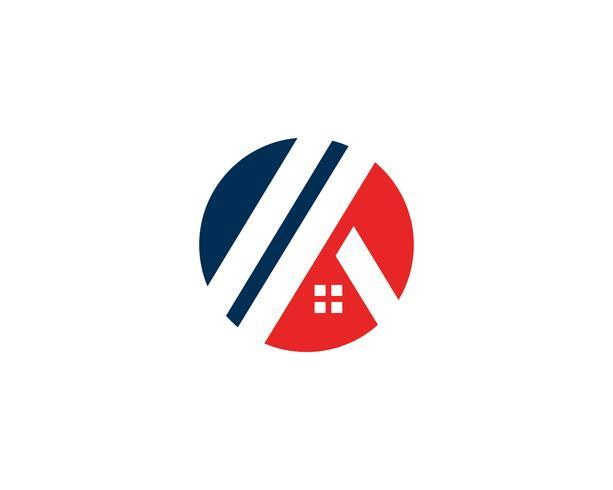 Home Logo und Symbole Symbole Vorlage vektor