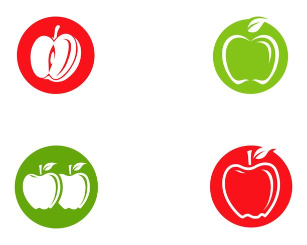 Apple-Vektor-Illustration vektor