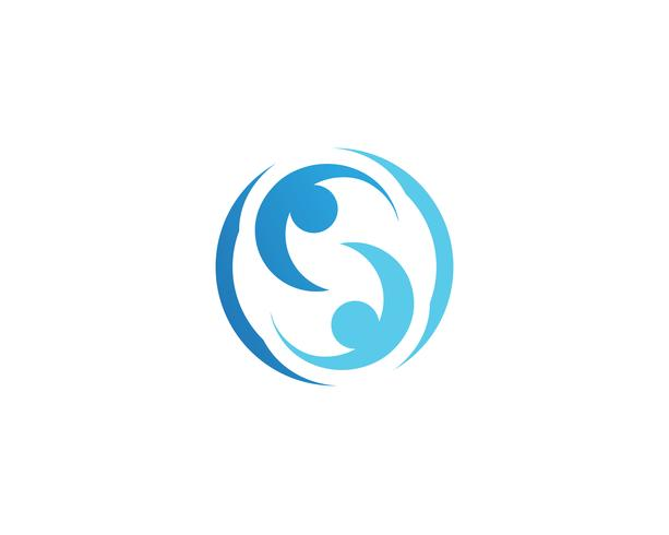 Annahme- und Gemeindesorgfalt Logo-Schablonenvektor vektor